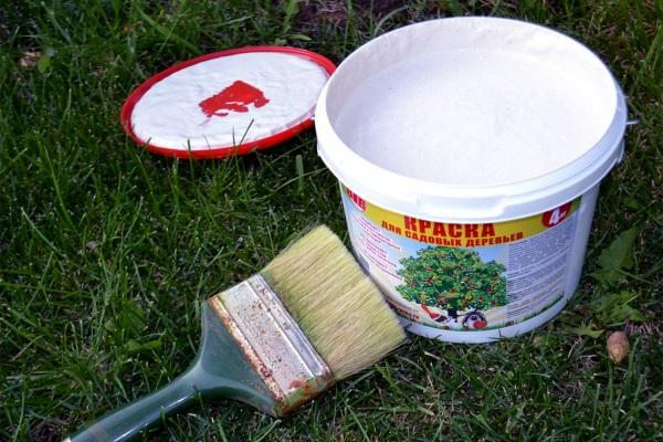 Краска для садовых деревьев