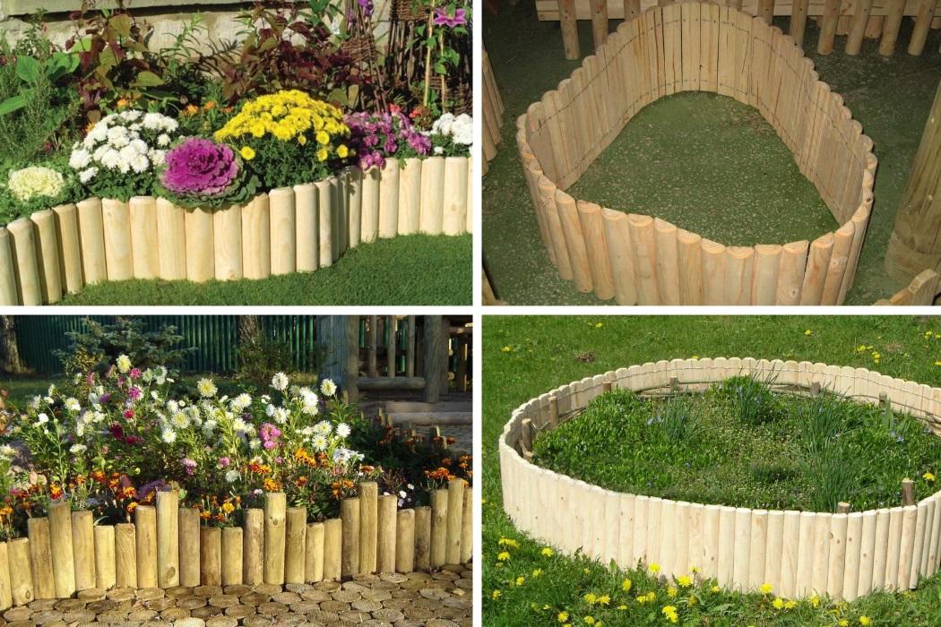 Рулонный забор для сада