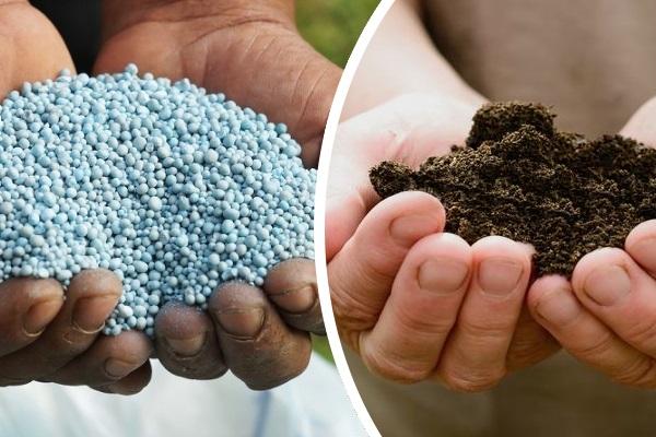 Минельные и органические удобрения